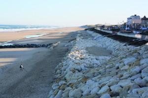 Front de mer - plage de Lacanau